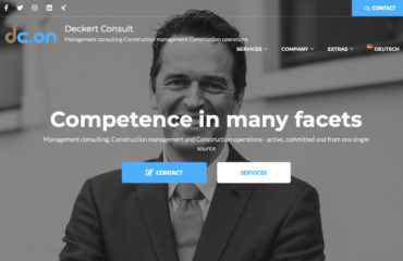 Blog Website Deckert Consult is online